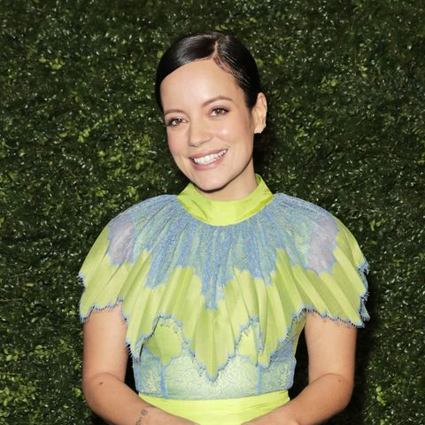 lily allen shares before and after booze pictures