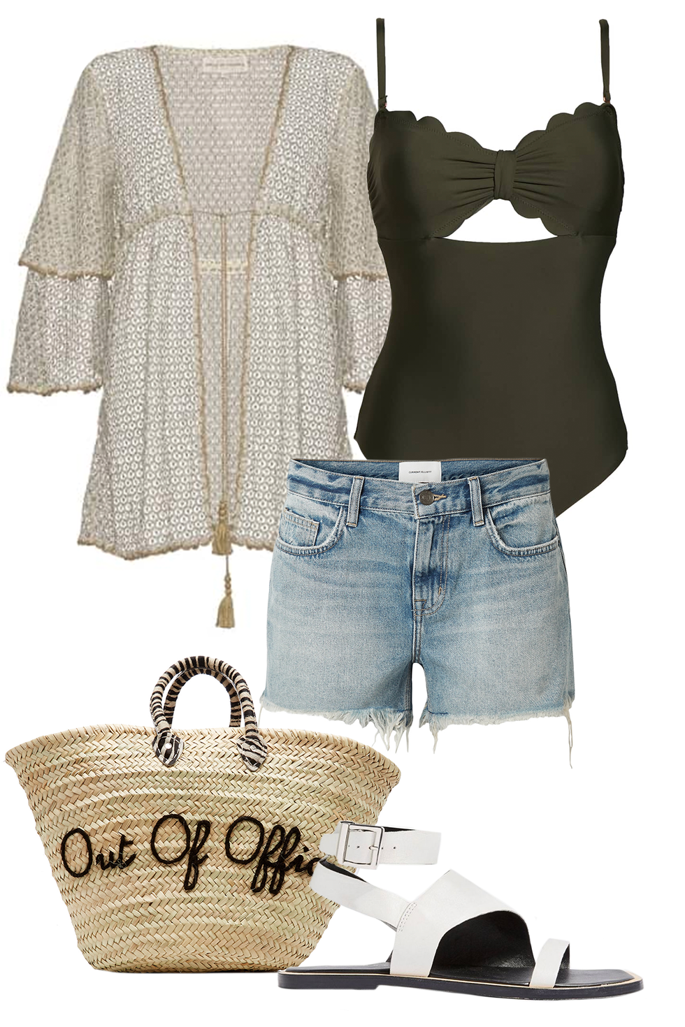 1782e675ceb Celebrity Beach Outfit Ideas - What to Wear to the Beach