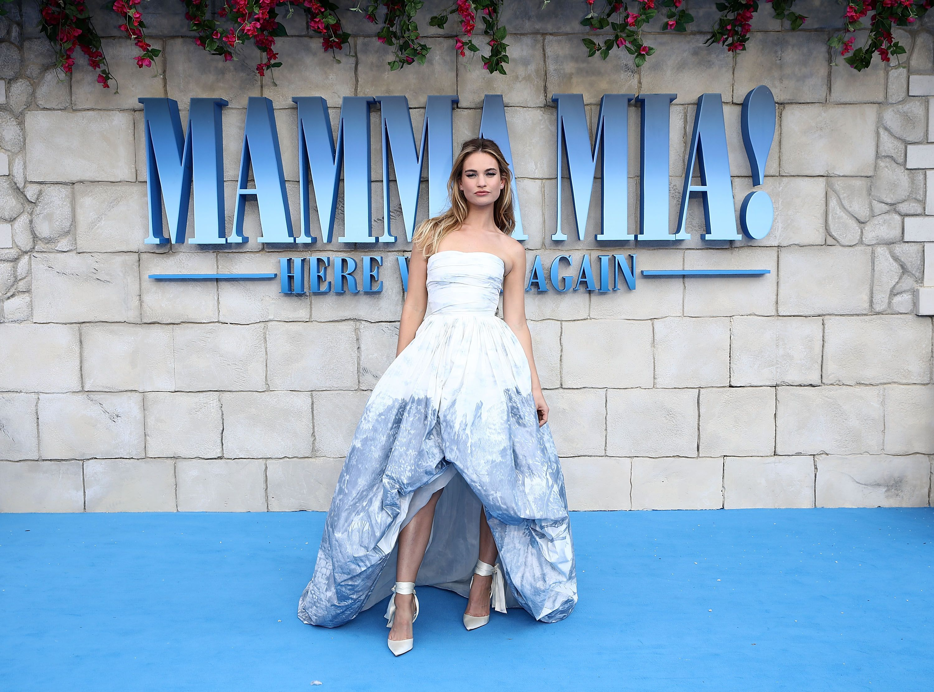lily james costumes mamma mia 2
