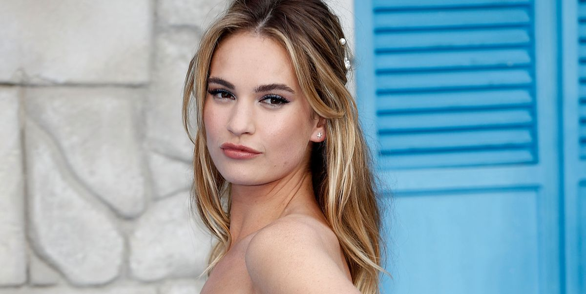 Who Is Lily James? - Meet the Actress Who Sparked Chris Evans Dating Rumors