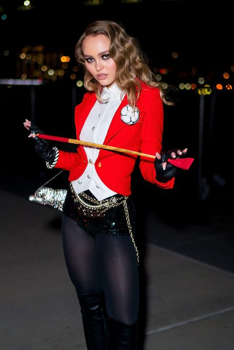 Lily-Rose Depp Hosts V Magazine Halloween Party Presented by Chanel