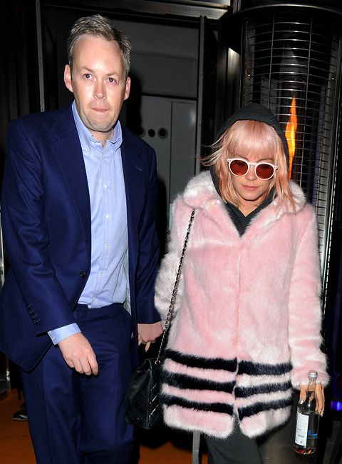 Lily Allen and Nicola Roberts Leave Sushisamba