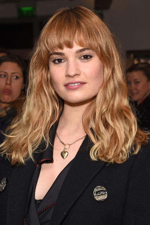 Lily James Beauty Muse