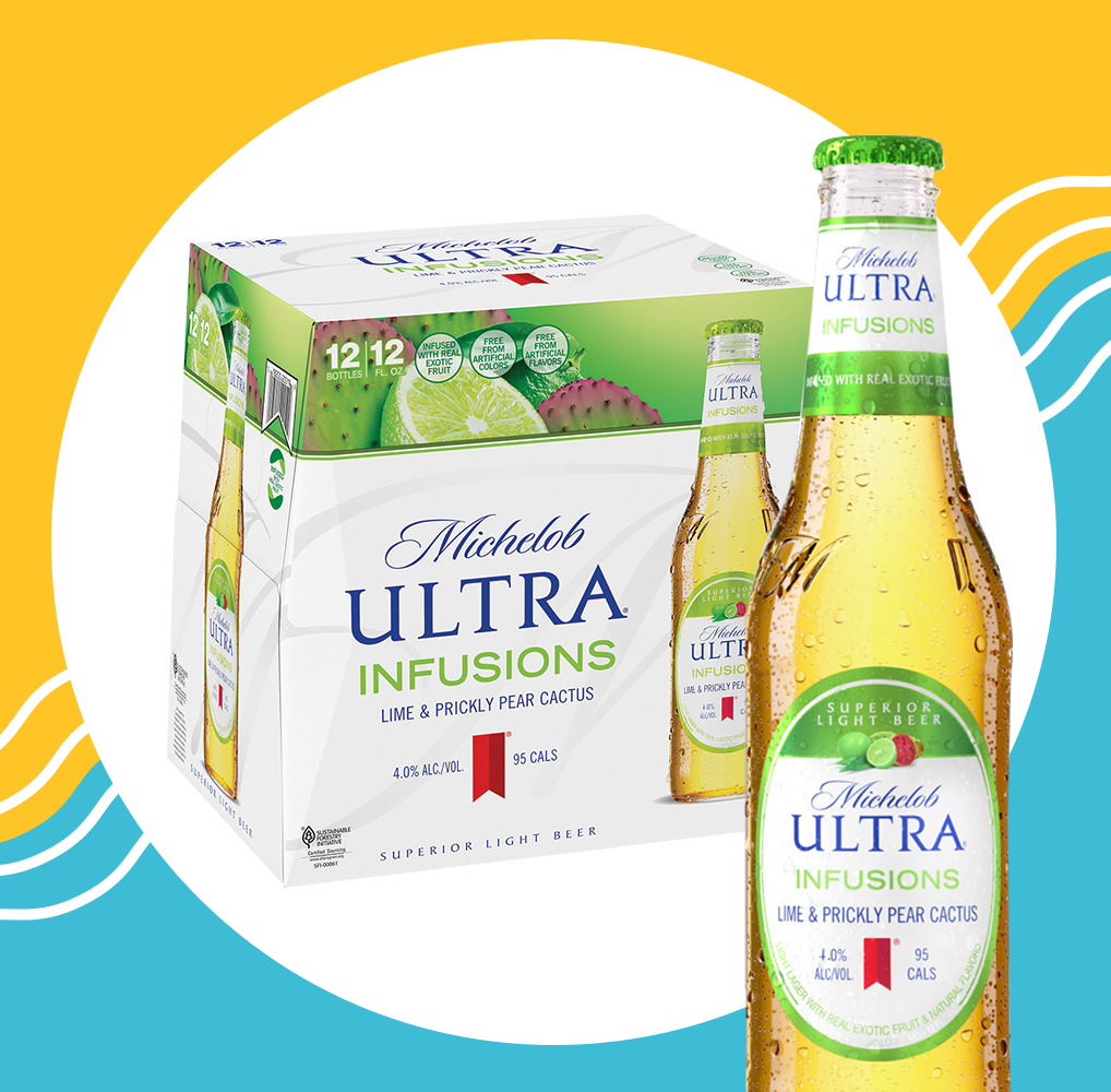 Michelob Ultra Just Launched a Fruity, Keto Beer And We Are Here For It