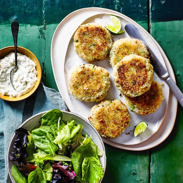 best fish recipes lime and coriander fish cakes