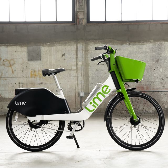 the new lime 6 ebike