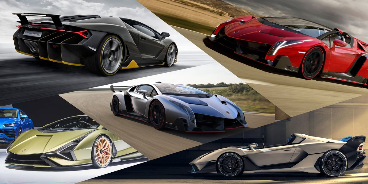 The 10 Coolest Lamborghini Limited Editions, One-Offs, and Concepts
