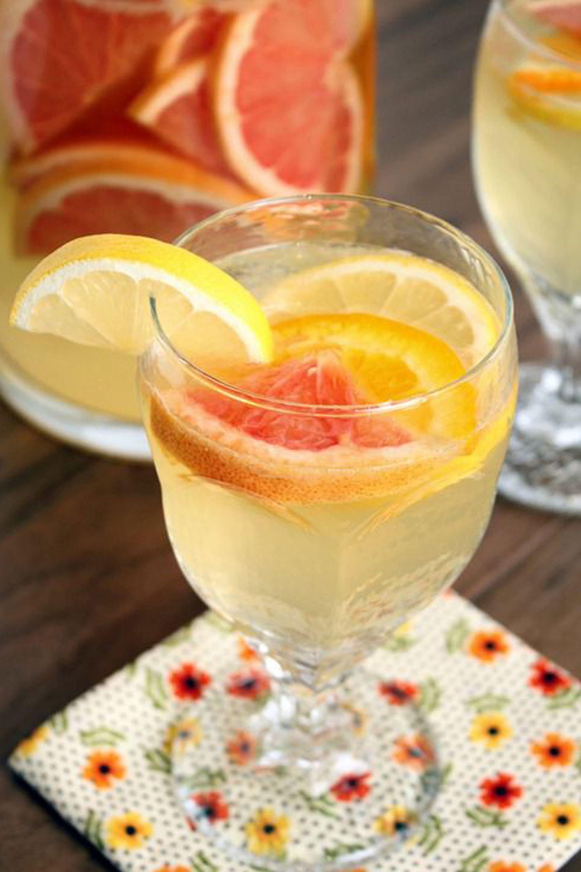 limoncello citrus sangria