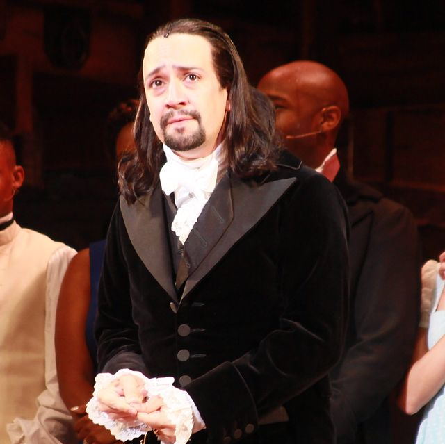 """""""hamilton"""" opening night curtain call  press conference"""