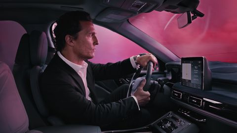 2020 Lincoln Aviator Co Stars In Matthew Mcconaughey Commercial