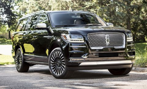 Lincoln Navigator L Black Label
