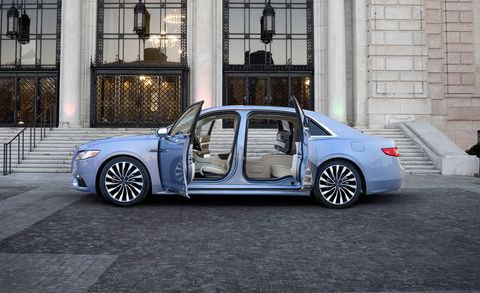 2019 Lincoln Continental Adds Coach Doors 80th Anniversary