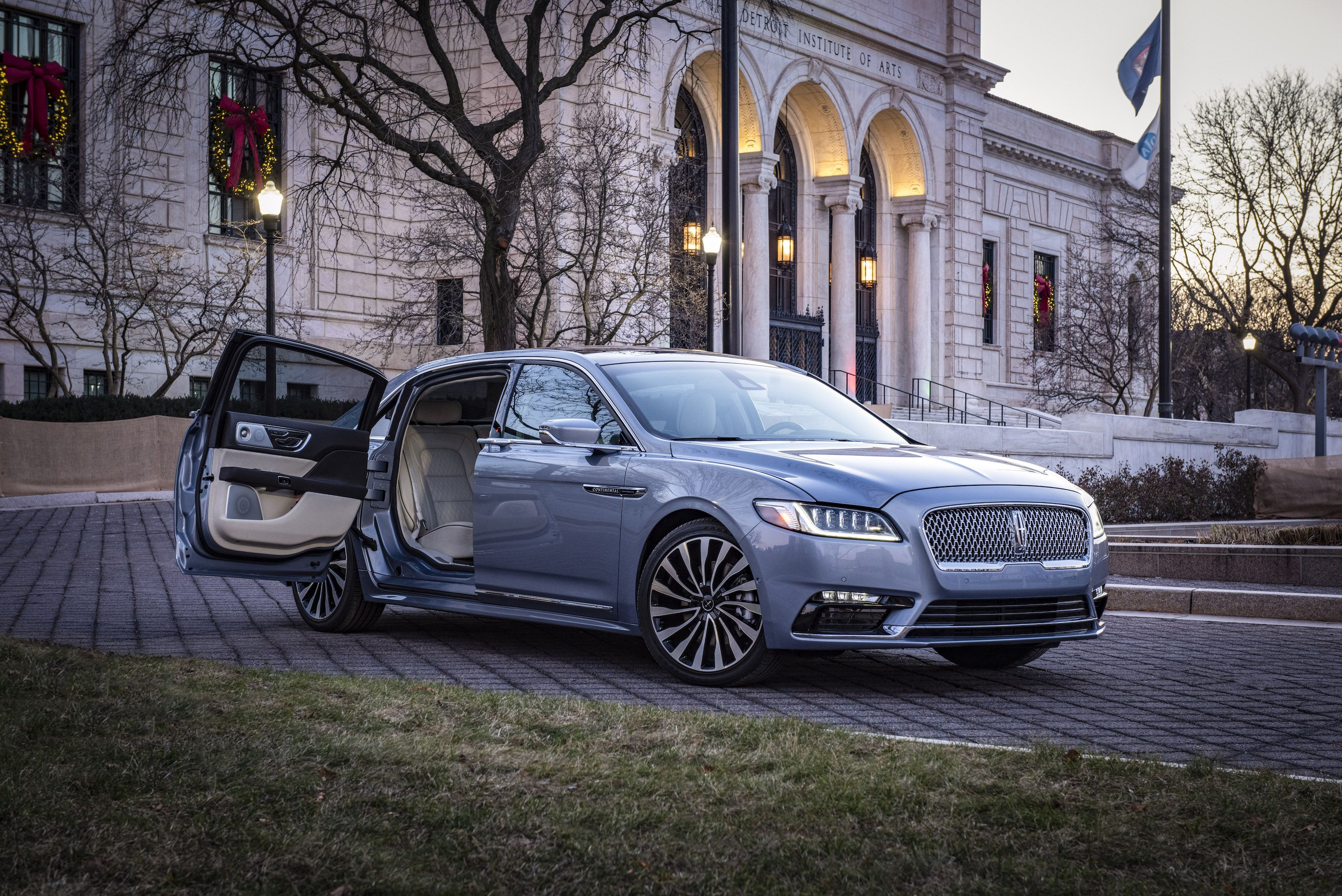 The 2019 Lincoln Continental Is Bringing Back Suicide Doors