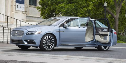 2020 Lincoln Continental Coach Door Edition Priced at $116,645