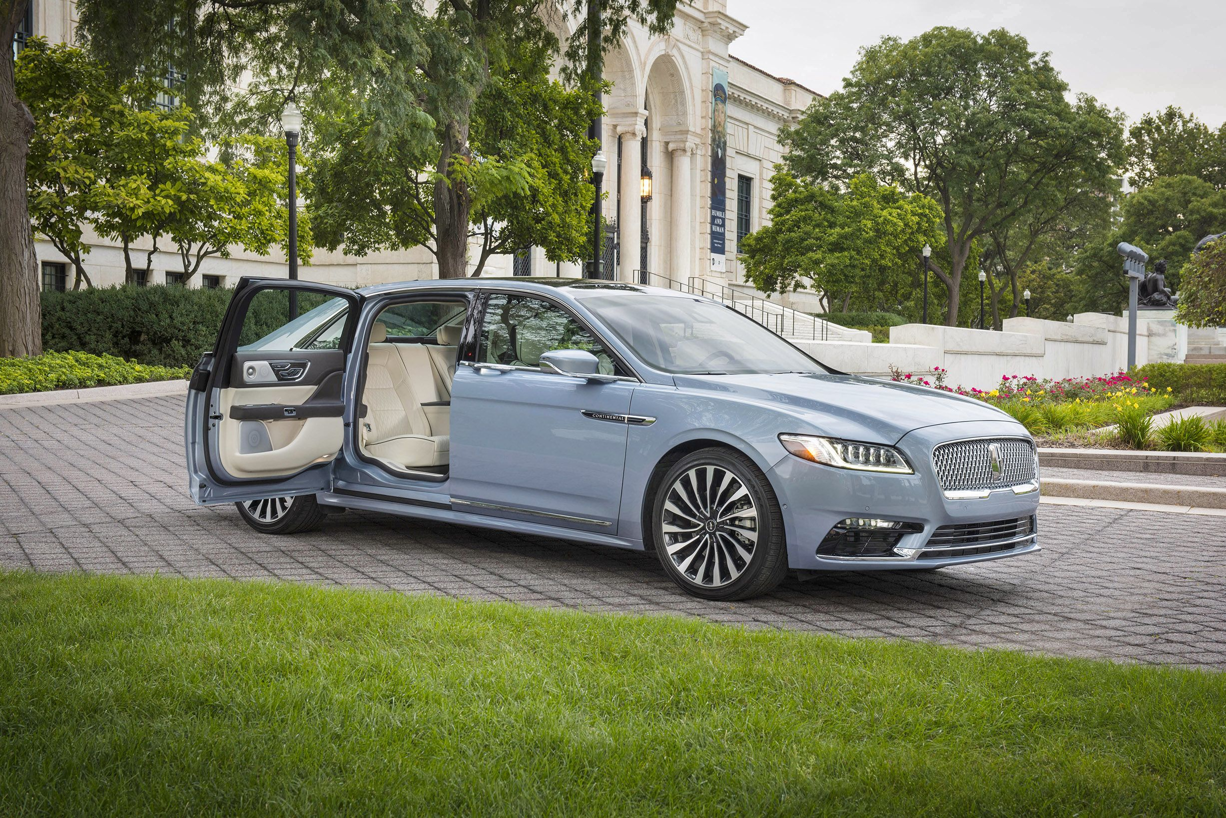 2020 Lincoln Continental With Suicide Doors Announced
