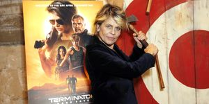 """Terminator: Dark Fate"" Axe Throwing Event & Screening"