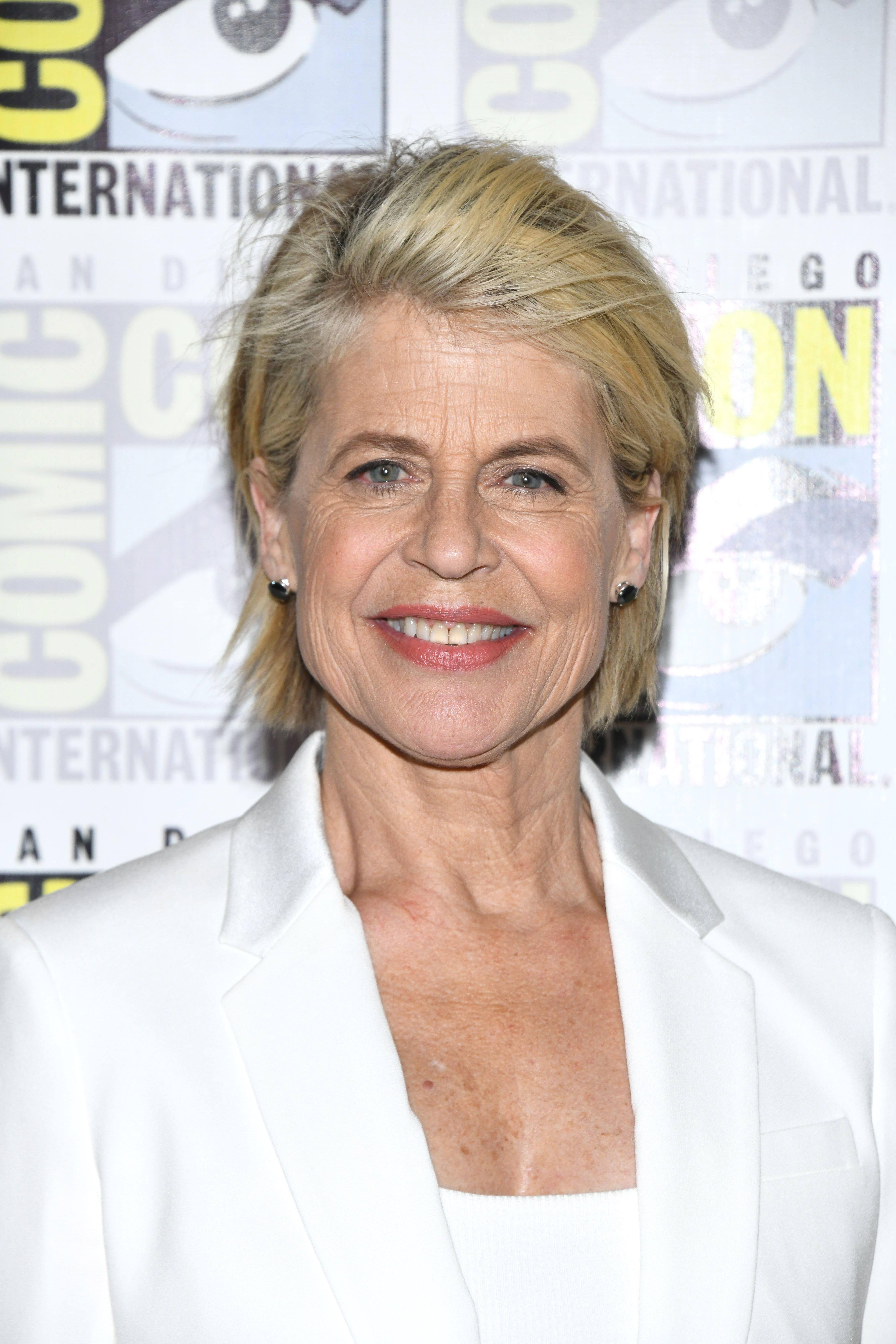 Linda Hamilton Reveals She's Been Celibate for More Than 15