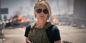 Sarah Connor Linda Hamilton Terminator destino oscuro