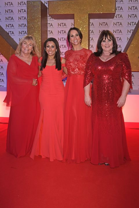 National Television Awards fashion