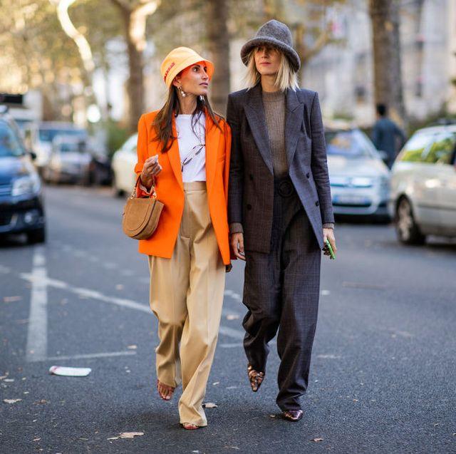 street style  paris fashion week womenswear springsummer 2019  day two