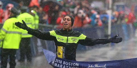Desiree Linden wins the Boston Marathon