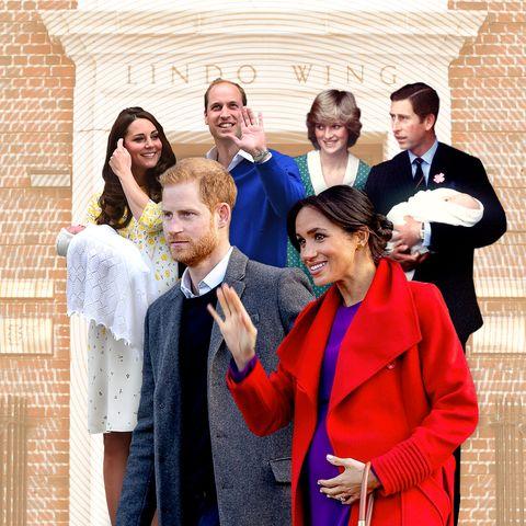 royal family lindo wing photos