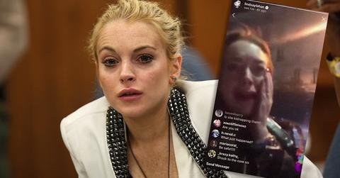 Lindsay Lohan Court Appearance