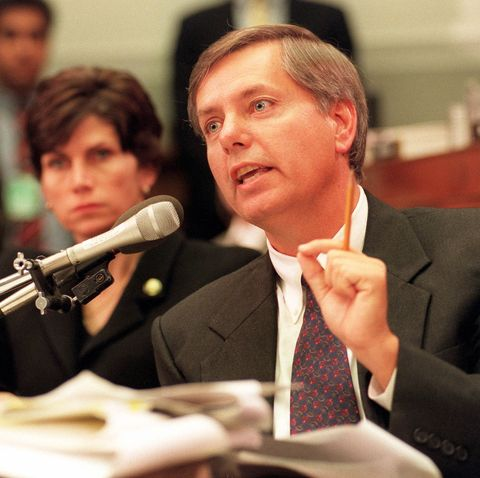 Congressman Lindsey Graham Of The House Judiciary Committee Phot