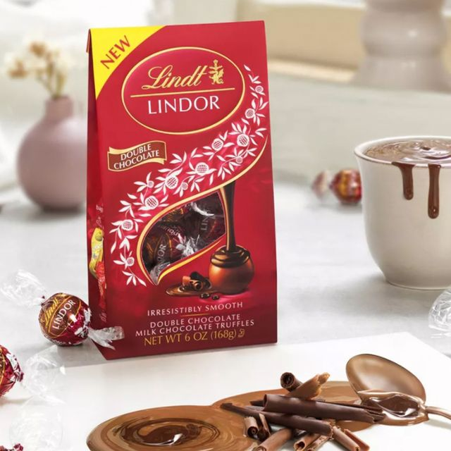 lindt lindor double chocolate truffles
