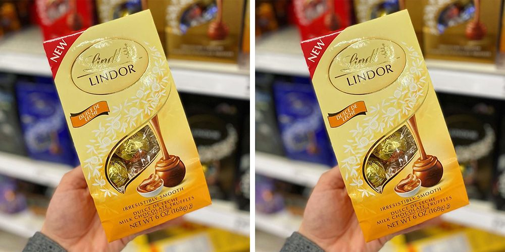 Lindt's New Dulce De Leche Truffles Are So Creamy And Full Of Caramel Flavor