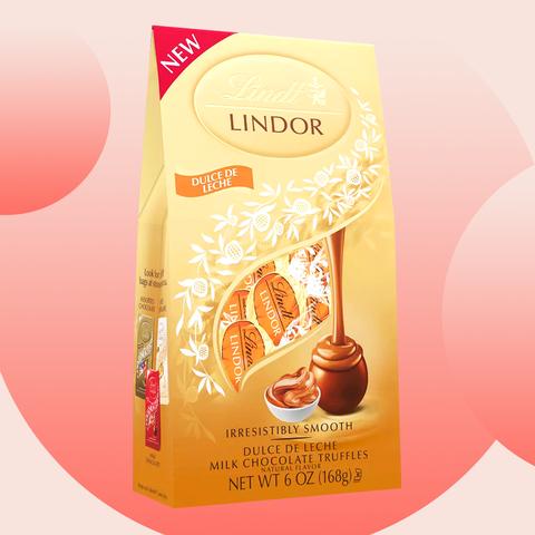 Lindt Lindor dulce de leche chocolate truffles