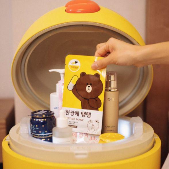 韓國line friends推出智能迷你冰箱!結合藍芽音響、uv殺菌功能…4大亮點一次看