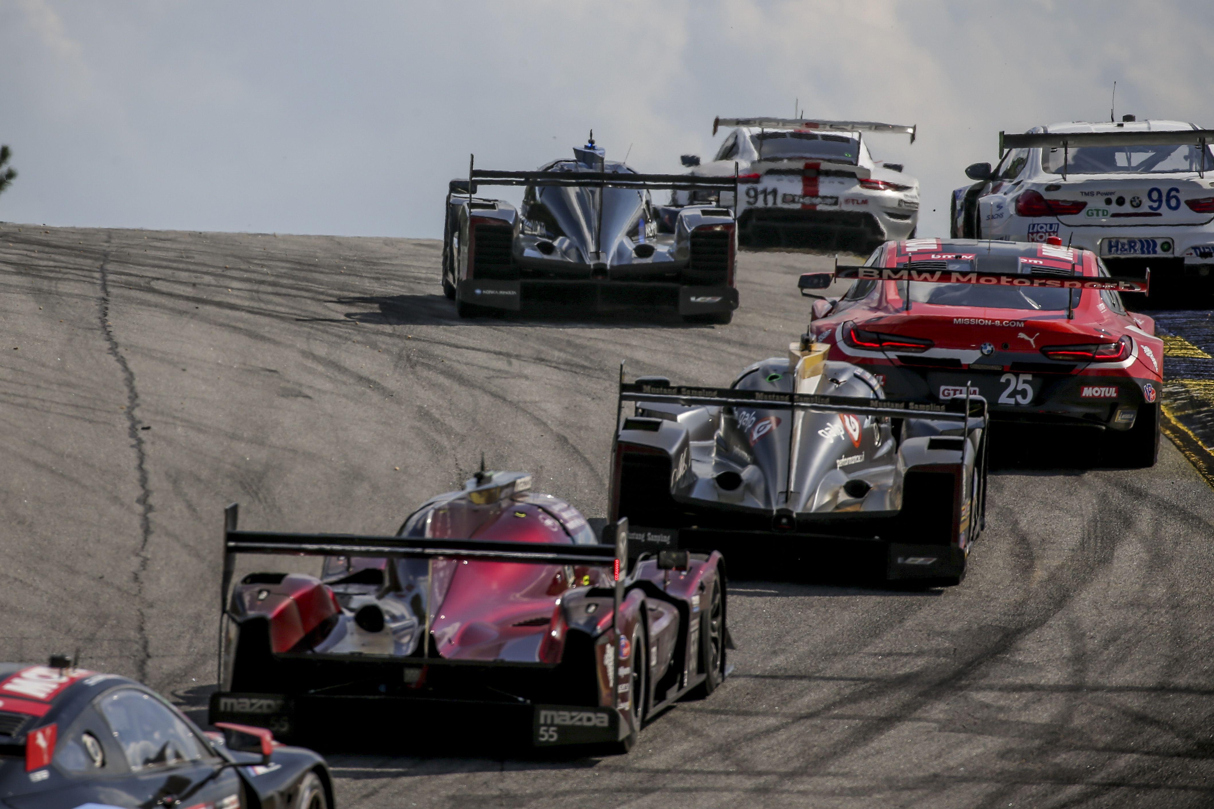 #7 Acura, #3 Corvette Lead Petit Le Mans at Halfway