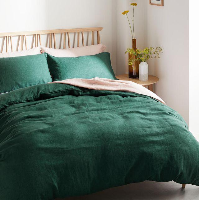Best Linen Bedding 11 Of The, Jewel Tone Green Bedding