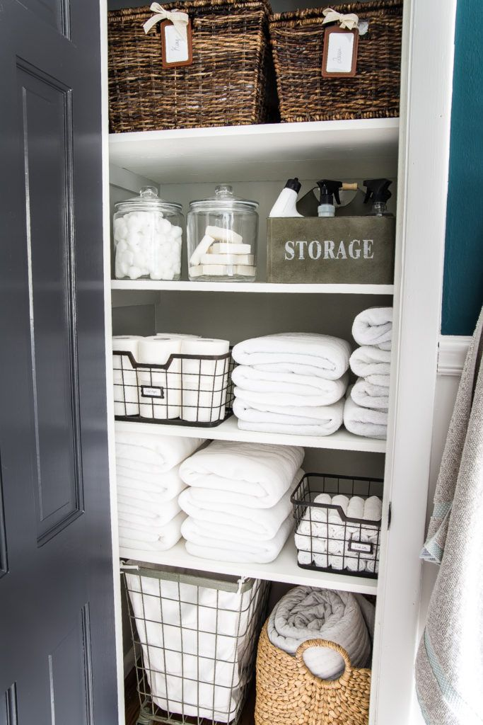 Picture of: Linen Closet Organization Ideas How To Organize Your Linen Closet