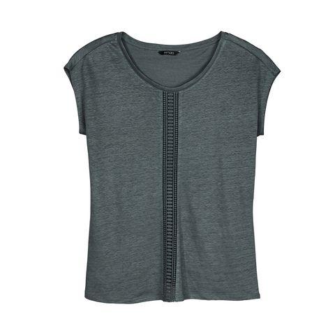 Clothing, T-shirt, Black, Sleeve, Outerwear, Denim, Blouse, Top, Sleeveless shirt, Jersey,