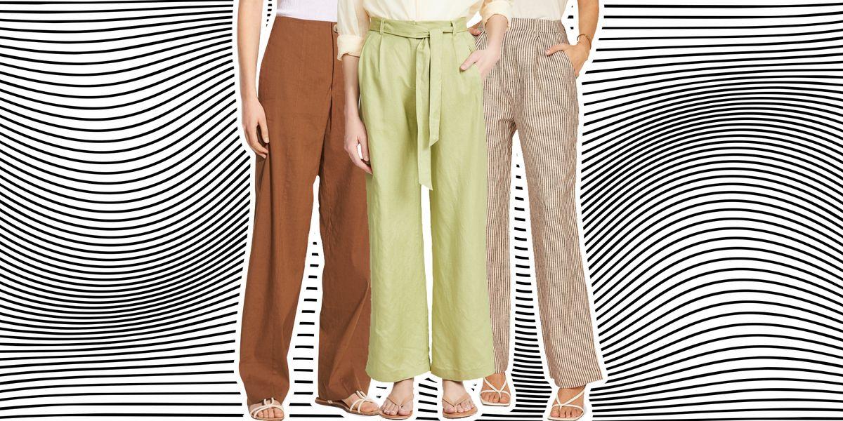 15 Best Linen Pants For Women 2021 Linen Trousers For Summer