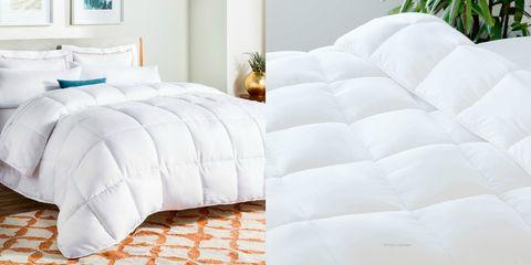 Bedding, Bed sheet, Furniture, White, Mattress, Textile, Duvet, Pillow, Mattress pad, Bed,