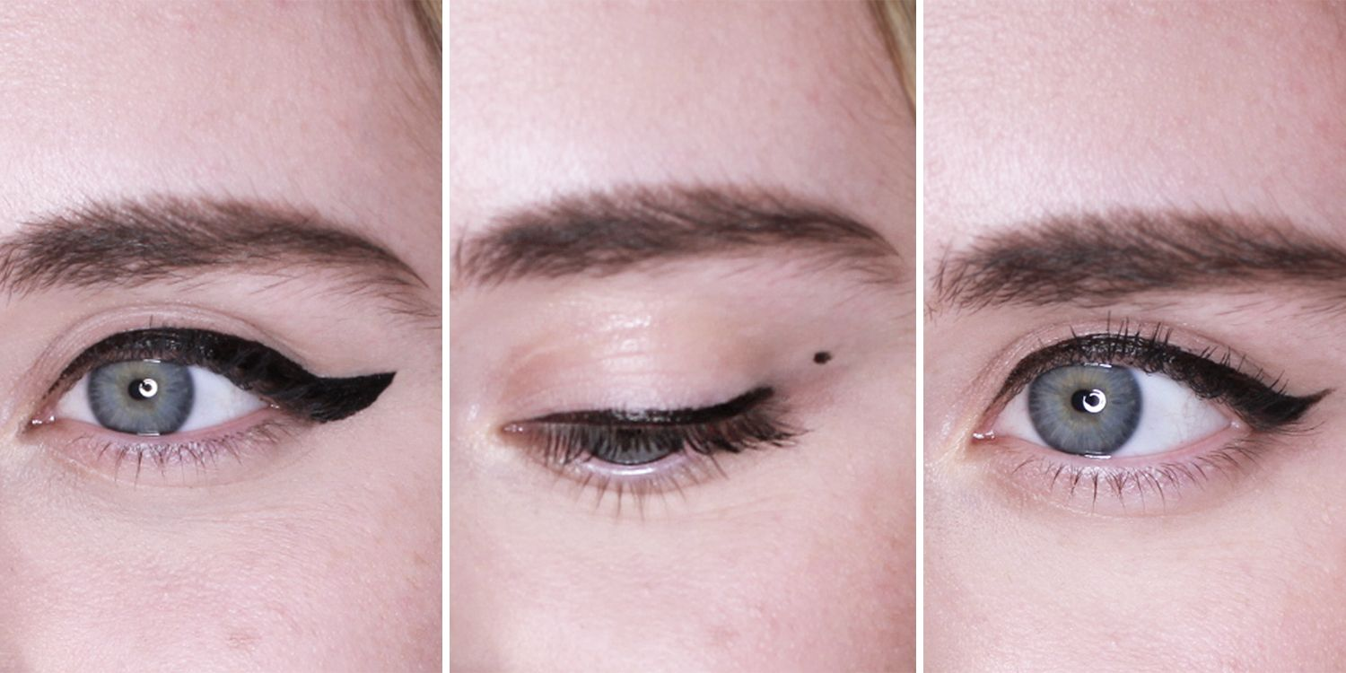 How to apply liquid eyeliner - 12 mistakes to avoid making