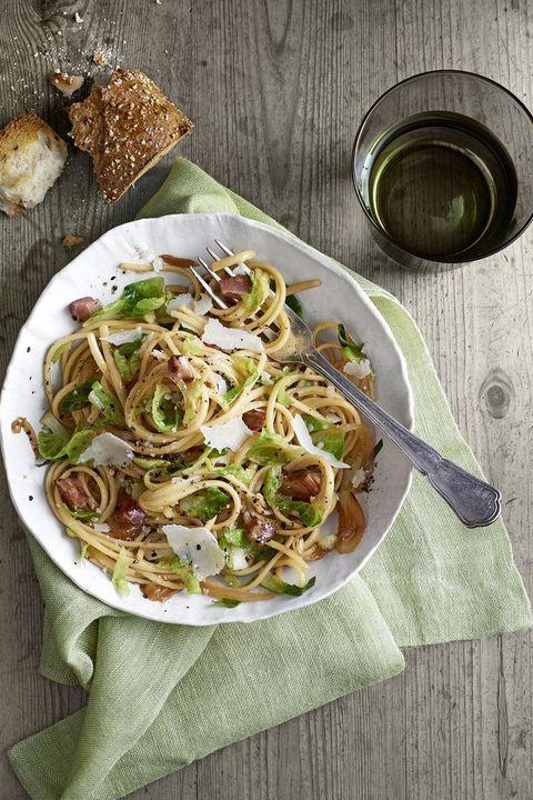 types of pasta linguine