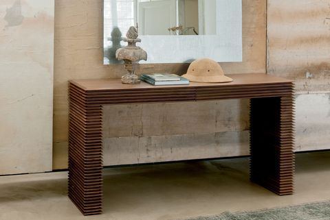 Furniture, Table, Sofa tables, Desk, End table, Room, Coffee table, Material property, Floor, Tile,