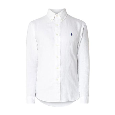 Linnen Overhemd Wit.Linnen Overhemd Dragen Zo Doe Je Dat In Stijl