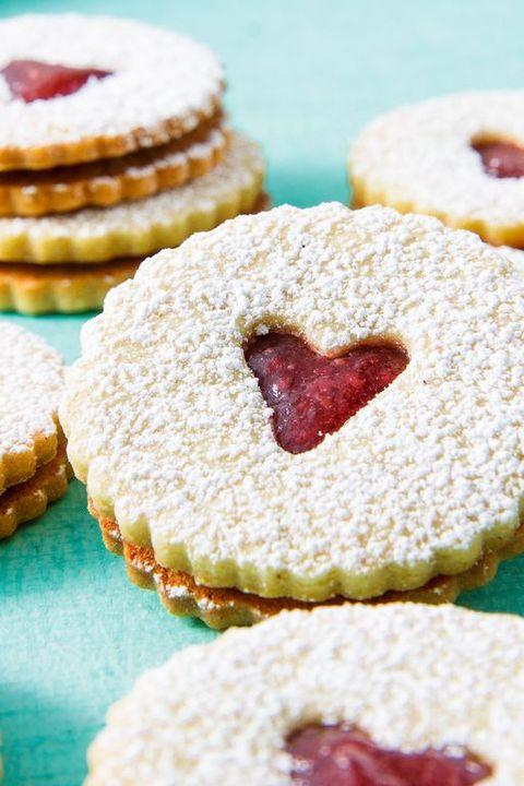 Valentine's Day Cookies - Linzer Cookies