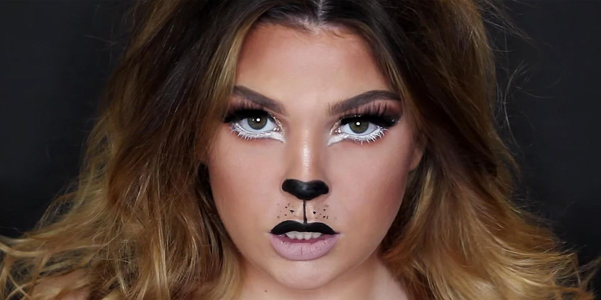 Lion Halloween Makeup Tutorial Easy Halloween Makeup Ideas