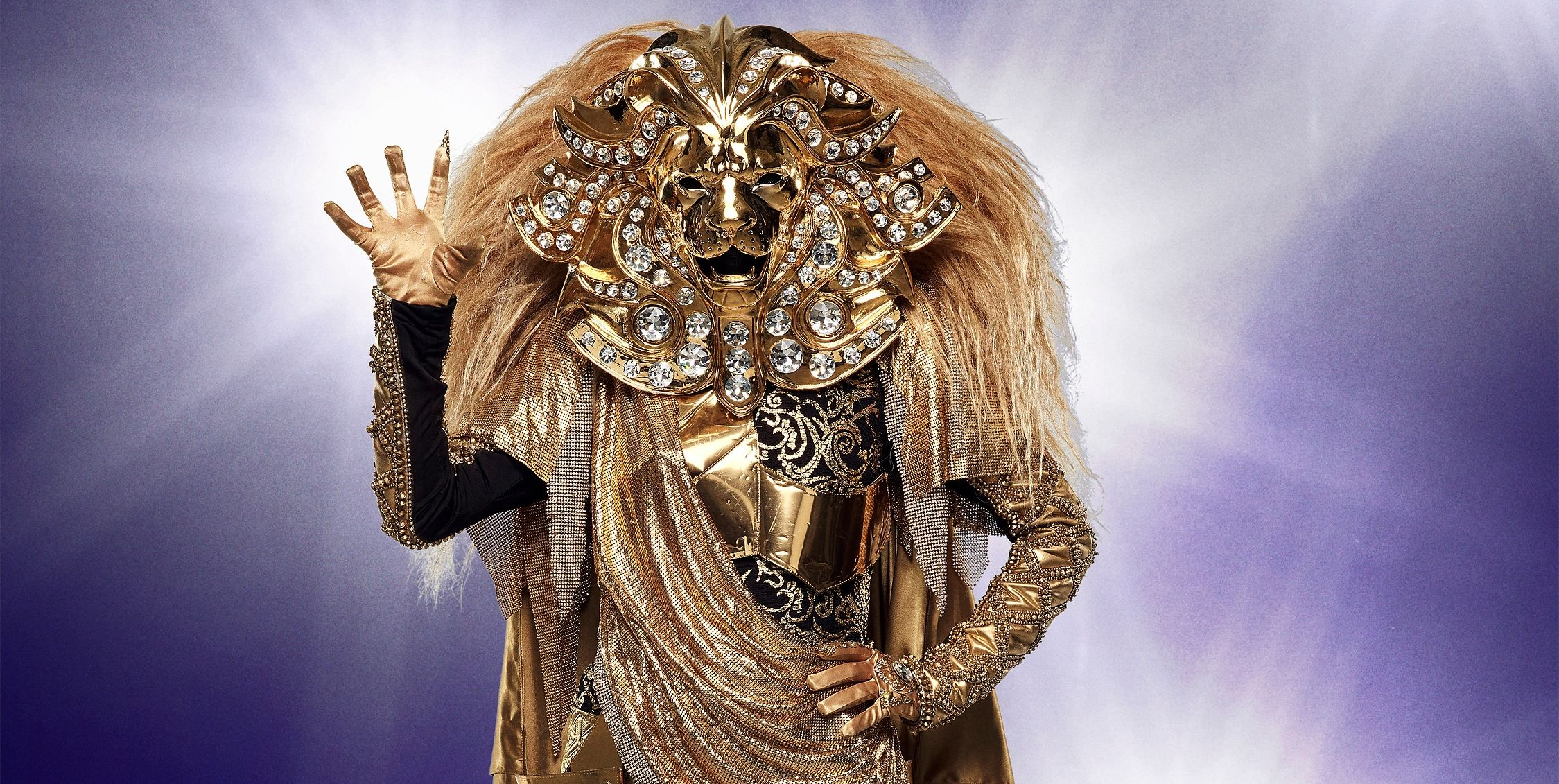 who is the lion on the masked singer