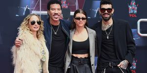 lionel richie with his daughters and son - lionel richie kids