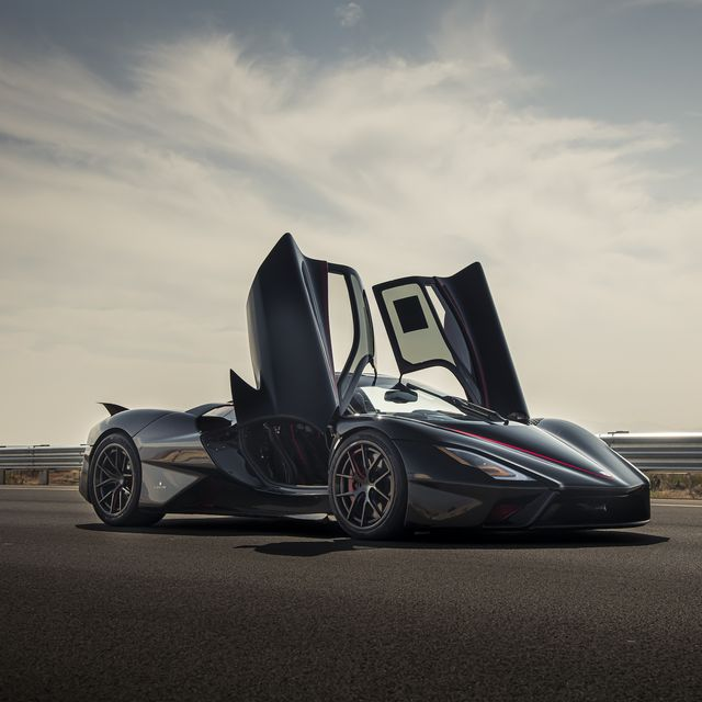 ssc tuatara production car speed record, pahrump nv oct 10, 2020photo james lipman