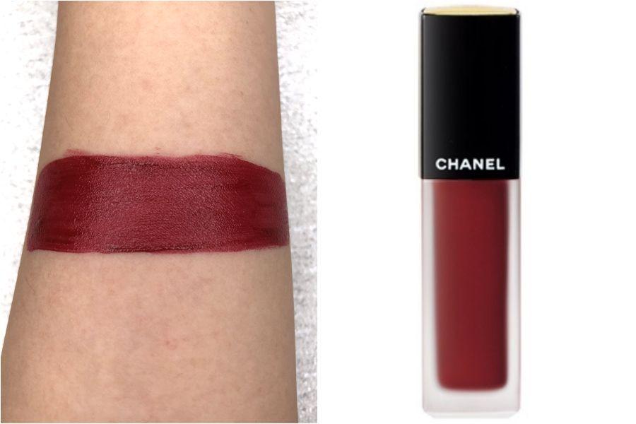 鐵鏽紅,唇膏,試色,顯白,倩碧可樂小花,無花果色,土色,ga,ysl,chanel