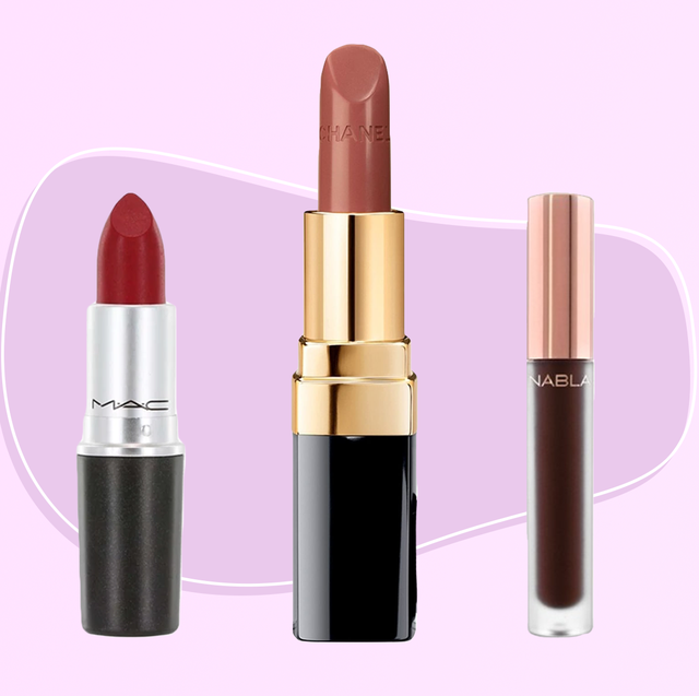 Product, Cosmetics, Lipstick, Pink, Beauty, Purple, Violet, Brown, Liquid, Material property,