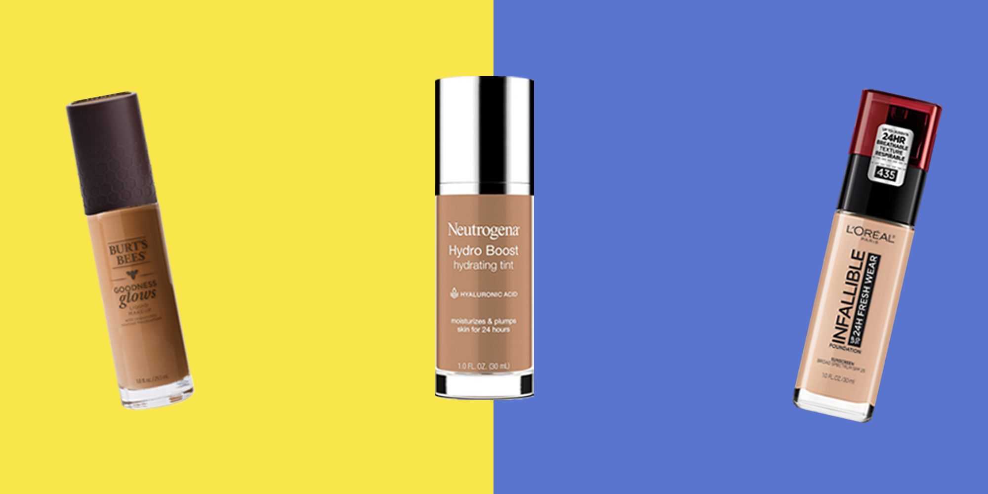 Best drugstore foundation for no makeup look